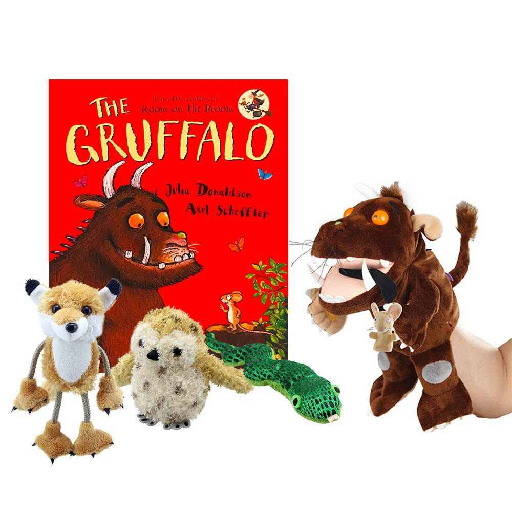Gruffalo Book With Puppets The Puppet Company