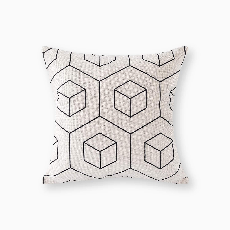 18 by 18 Kess InHouse EBI Emporium Taken by The Undertow Green Blue Throw Pillow