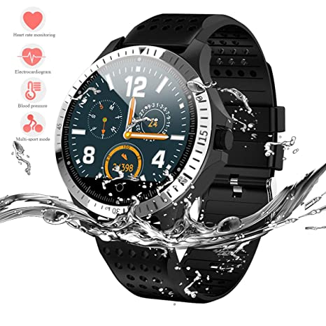 MAIDALL Sport Smart Watch for Men, Fitness Tracker with ECG+PPG Heart Rate Blood Pressure, IP67 Waterproof Smartwatch with Pedometer, Calorie, Sleep ...