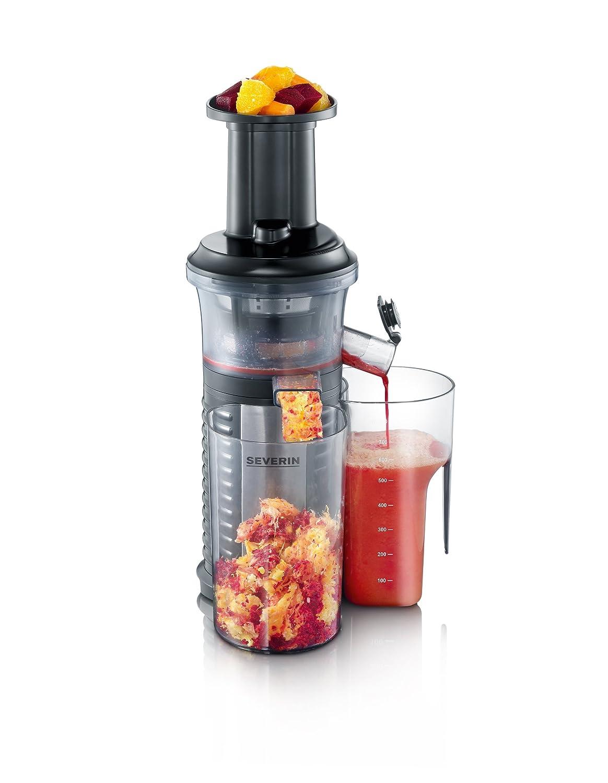 Severin ES 3569 Slow Juicer Estrattore di Succo senza Lame, BPA free [Classe di efficienza energetica A]