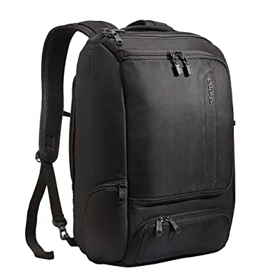 Amazon.com: eBags Professional Slim Laptop Backpack (Solid Black ...