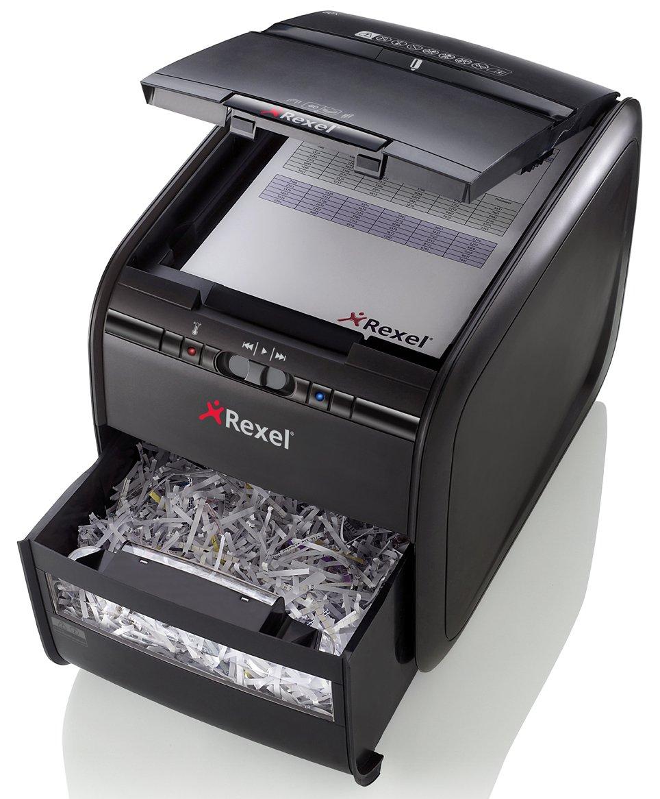 Profi-Geräte (z.B. von Rexel) bieten höhere Sicherheitsstufen, sind aber oft auch teurer.