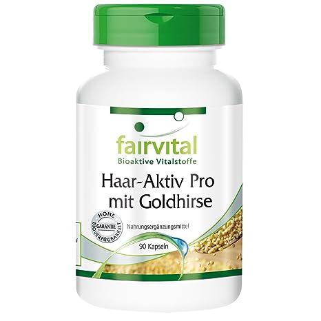 Activ Hair Pro - para 1 mes - VEGANO - Alta dosificación - 90 cápsulas -