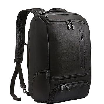 eBags Mochila profesional delgada para portátil Talla única Negro sólido: Amazon.es: Electrónica