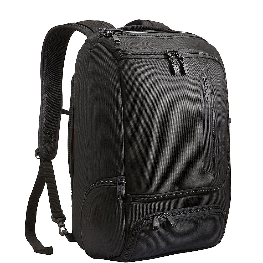 eBags Professional Slim Laptop Backpack (Solid Black)