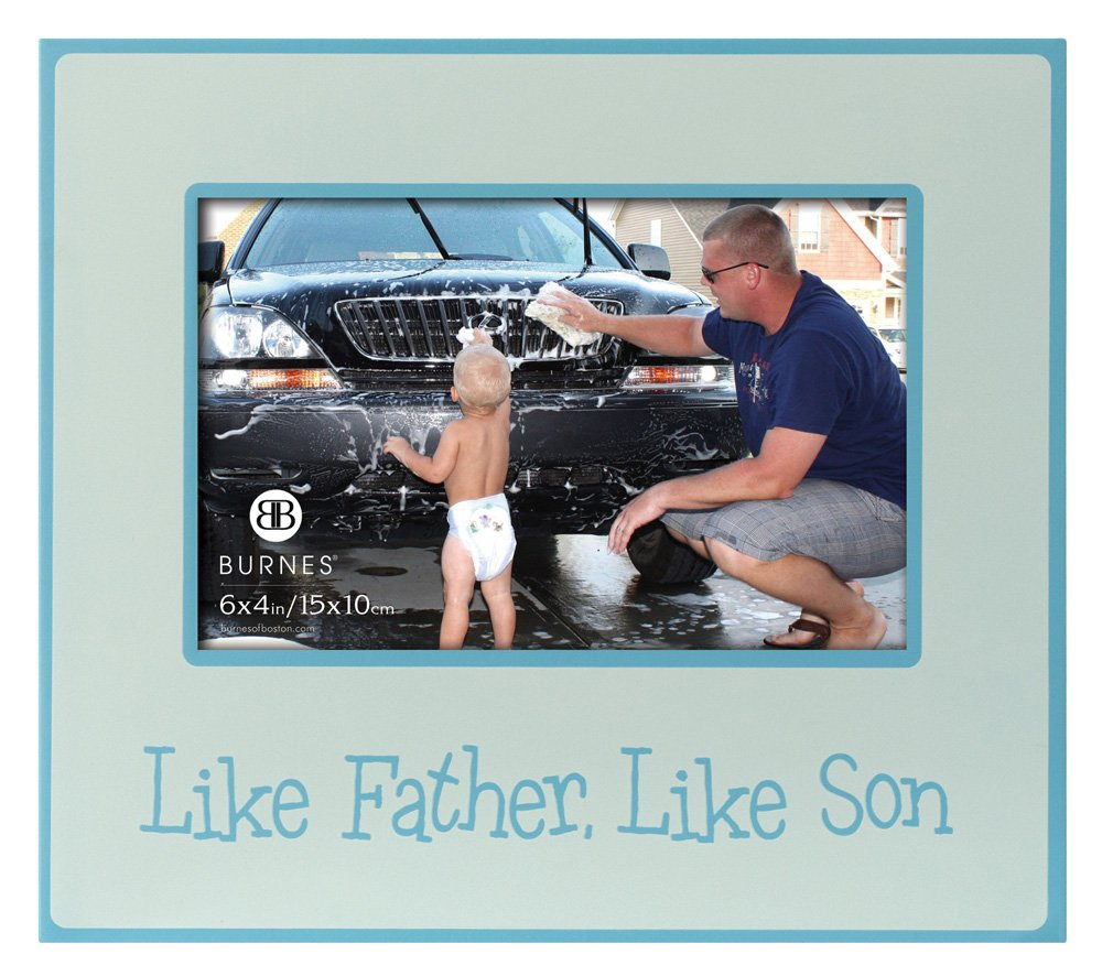 Burnes of Boston 540964 Baby Baby Like Father, Like Son Picture ...