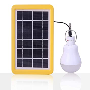 BOL Solar lámpara portátil solar LED lámpara de luces para el hogar luz interior luz de emergencia tienda de campaña Camping noche luz de trabajo: ...