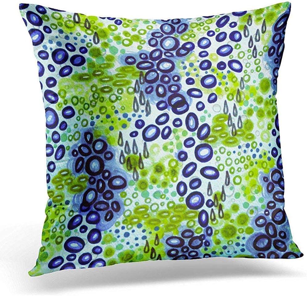shizh Azul Masculino Circular Persuasión Neón Tropical Burbuja ...