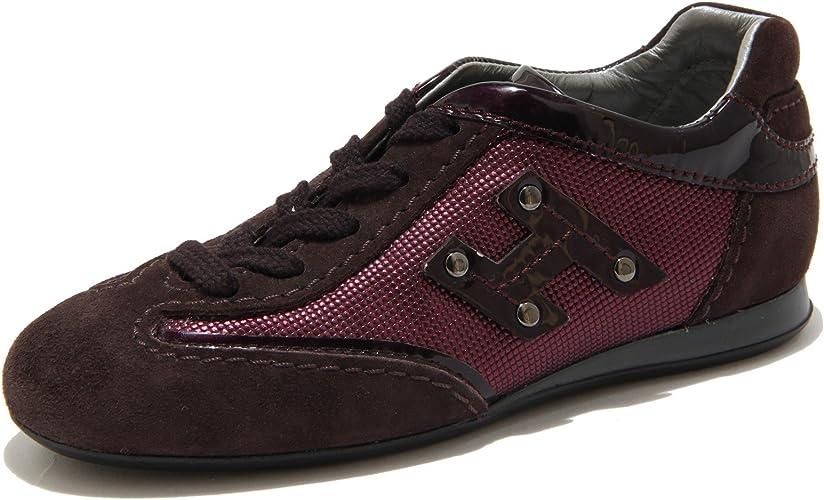 Hogan Viola Sneaker Olympia Scarpa Bimba Shoes Kids 56847 [28 ...