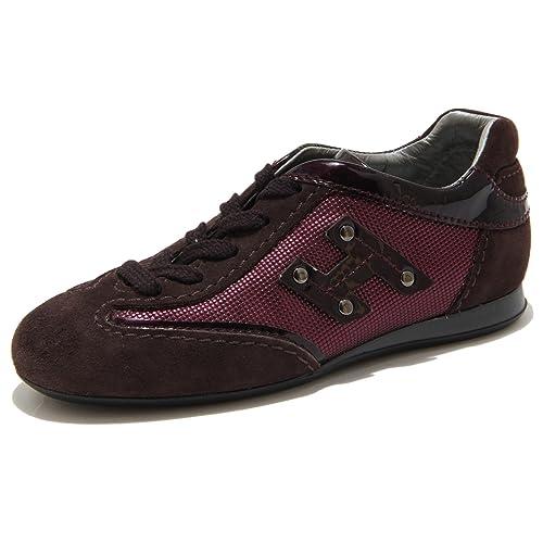 Hogan Viola Sneaker Olympia Scarpa Bimba Shoes Kids 56847  28   Amazon.it  Scarpe  e borse df4b9b9413e
