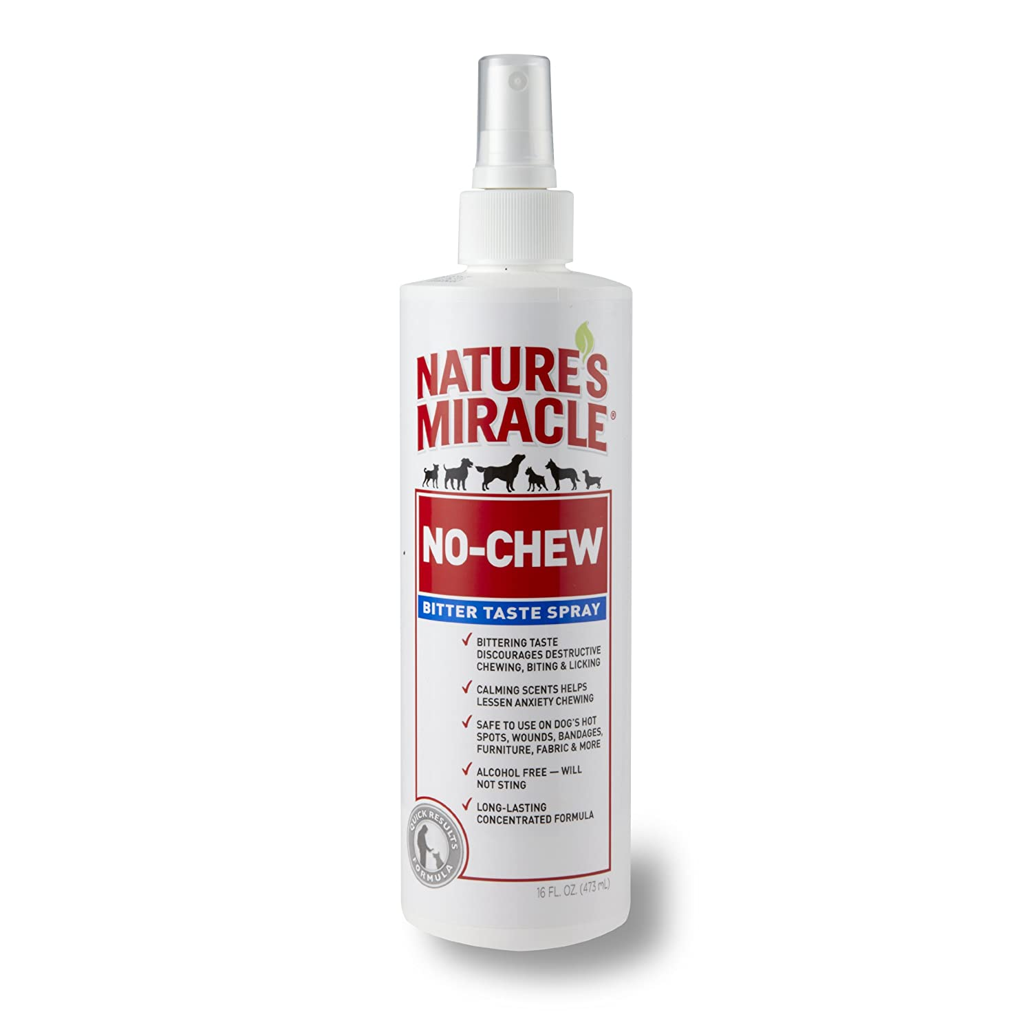 United Pet Group Nature's Miracle No Chew Deterrent Spray