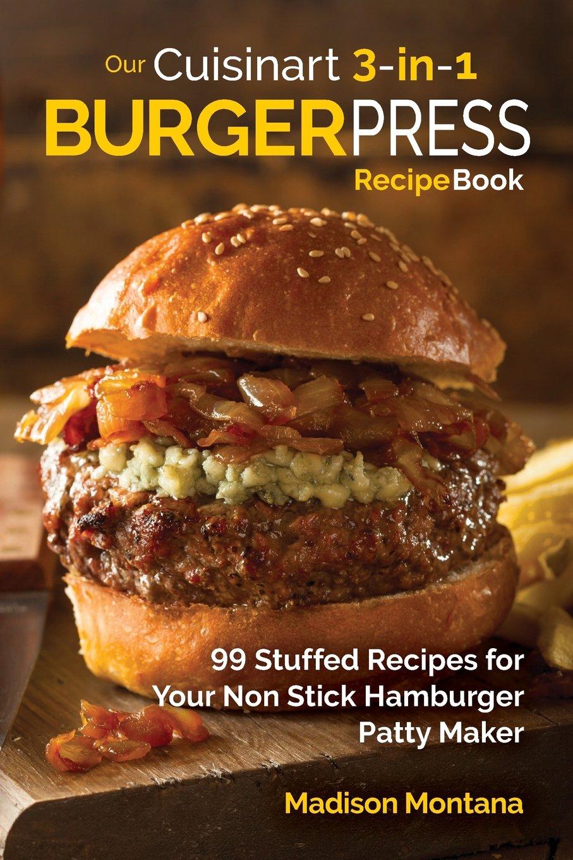 Cuisinart Burger Press Cookbook Entertainment product image