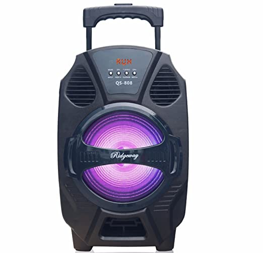 "Review Rider 8""Amplified woofer Portable/Rechargeable"