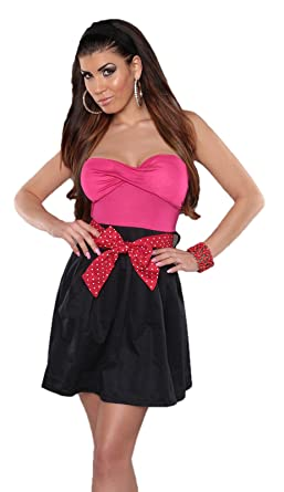 Instyle , Tailleur,robe , Brassière , Uni , Femme , rose