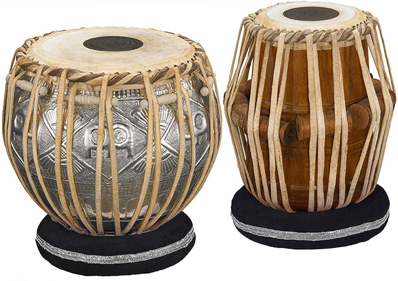 【最安値挑戦!】 Makan Concert Designer 4.5 Kg Copper Bayan, Cushion Finest Bayan, Copper Dayan Tabla Drum Set Percussion Musical Instrument with Carry Bag & Cushion B07QJ3892C, 八千代町:53f8bd2d --- a0267596.xsph.ru