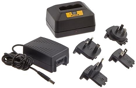 Amazon.com: FLUKE BC7217 120 Cargador de batería para 6 KD43 ...
