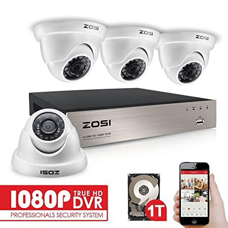 Zosi 1080p security cctv camera systems w1tb hard drive 4ch 1080p zosi 1080p security cctv camera systems w1tb hard drive 4ch 1080p remote security camera solutioingenieria Choice Image