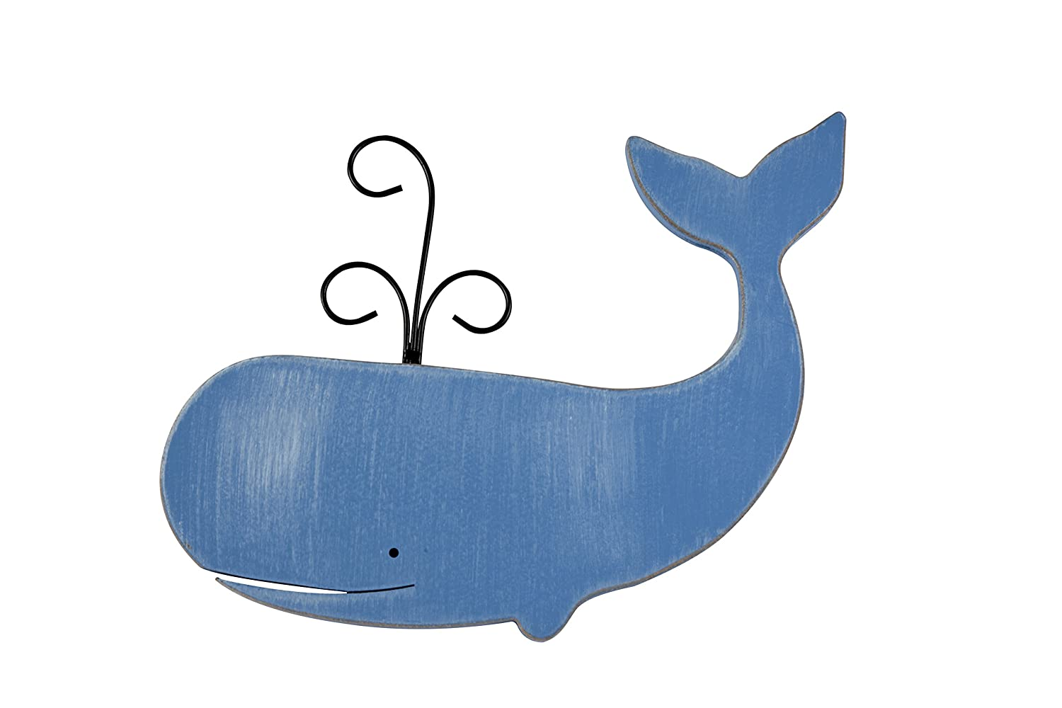 Sadie & Scout Hampton - Whale Shaped Wall Décor