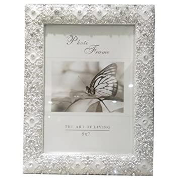 Amazon Christmas Picture Frame With Rhinestones White Picture