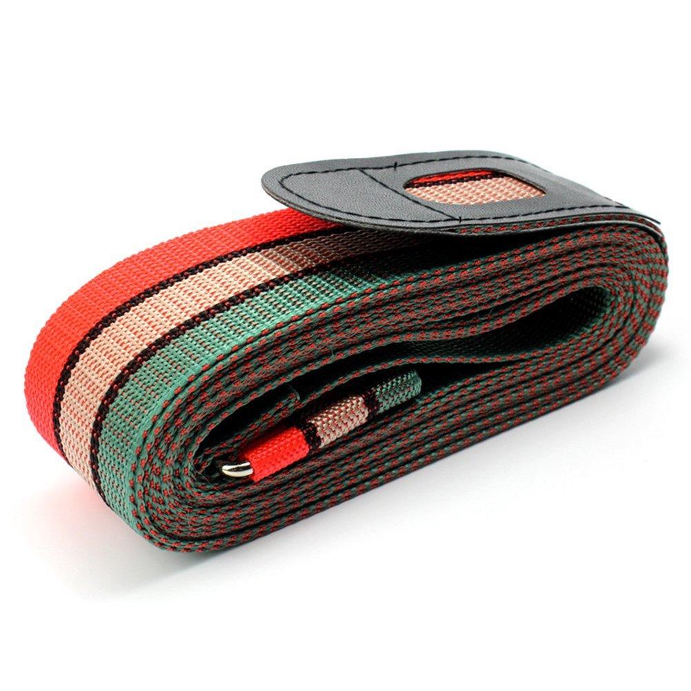 NUOLUX Suitcase Luggage Packing Belt Stripe 3pcs Random Color