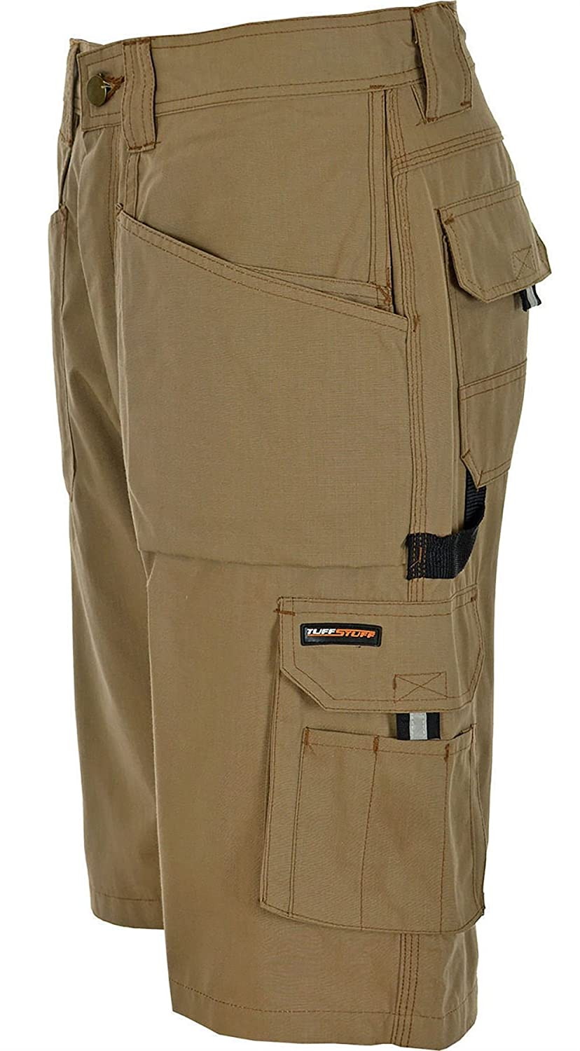 Tuff Stuff Mens Endurance Work Shorts with Holster Pockets