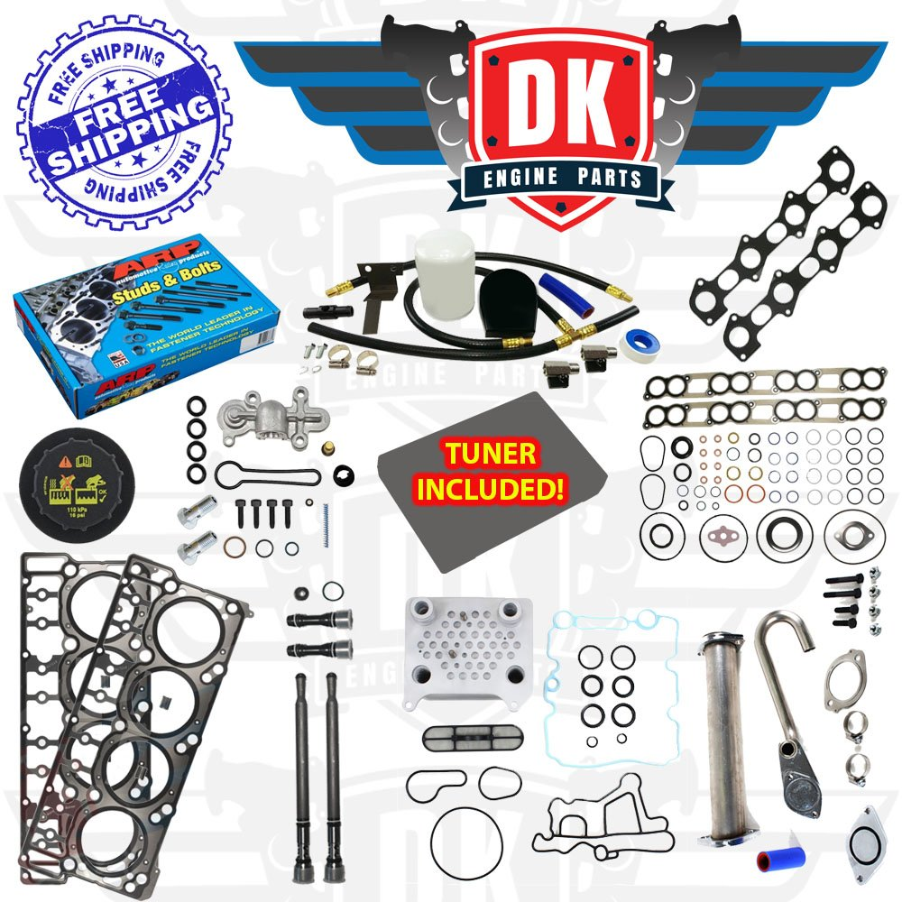 Amazon.com: STAGE 5 SOLUTIONS KIT - 2003-2010 FORD 6.0L 6.0 ...