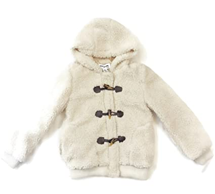 da0b70adfe0b Amazon.com  CoffeeShop Girls  Whubby Fleece Jacket-Cloud Creme  Clothing