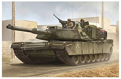 83da846fa719 Amazon.com  TRP00926 1 16 Trumpeter US M1A1 AIM Abrams Main Battle ...