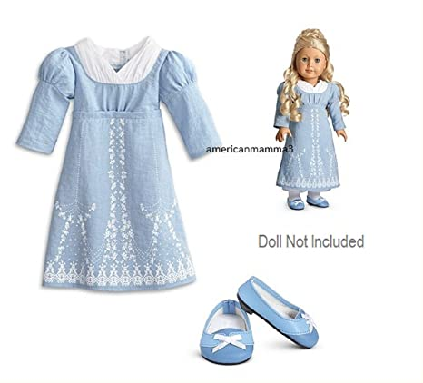 Amazon.com: American Girl Caroline - Caroline\'s Birthday Dress: Toys ...