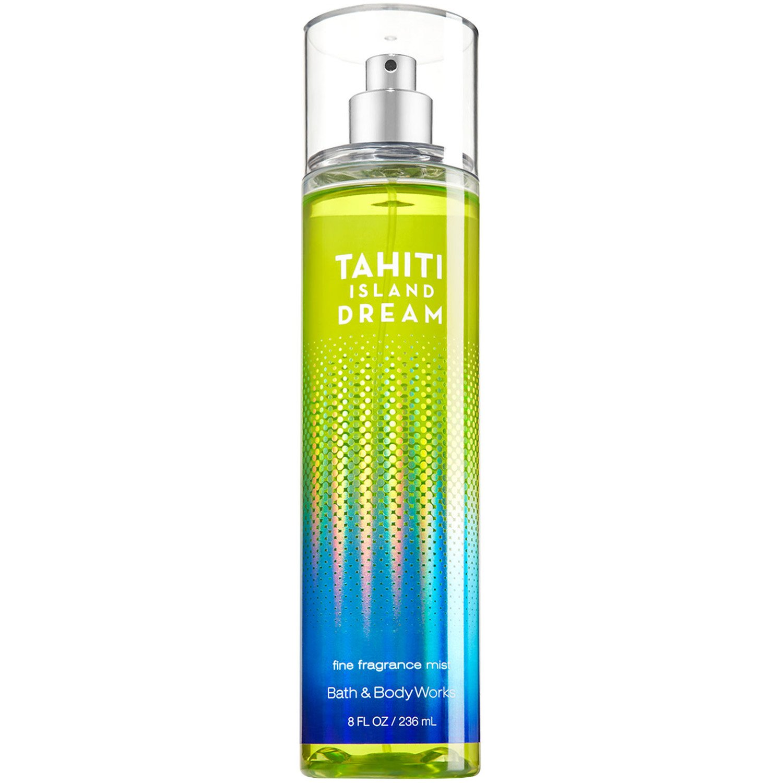 Bath and Body Works Tahiti Island Dream Fine Fragrance Mist 8 Ounce