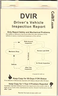 Amazon.com : 90-Day Mechanical Inspection Form for Truck, Tractor ...