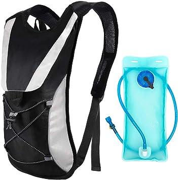 SCM Hydration Pack with Water Bladder - Marathon Running Vest ...