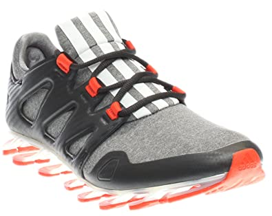 wholesale dealer 0a242 f89bf adidas Men s Springblade Pro Heather Grey White Carbon Athletic Shoe