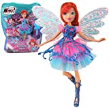 Winx Club - Butterflix Fairy - Bloom Bambola 28cm con magique Robe