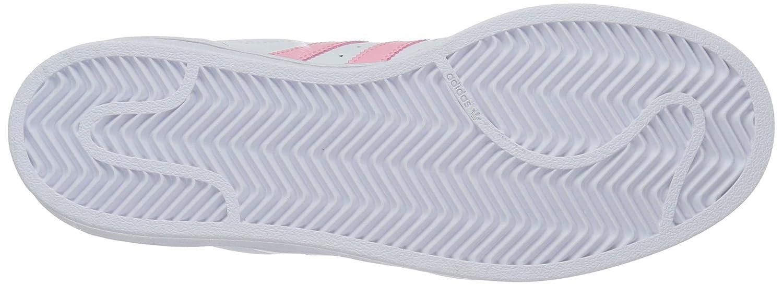 adidas Women's Originals Superstar B01N76JCVD 7.5 B(M) US|White/Clear Light Pink Metallic/Gold
