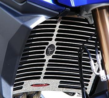 powerbronze 520-t106 - 400 Protector de radiador para Triumph Tiger 1200 Explorer y Tiger 1200 Explorer XC acero inoxidable: Amazon.es: Coche y moto