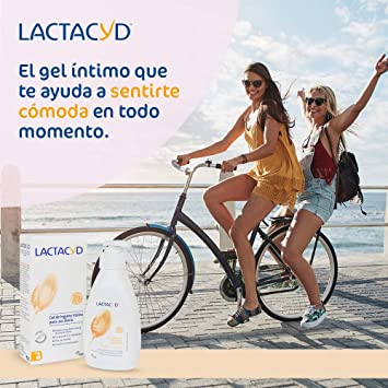 Lactacyd Gel de Higiene Íntima Diario, Ph Equilibrado, sin Jabón, 400 ml