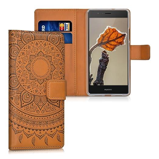 67 opinioni per kwmobile Custodia portafoglio per Huawei P9 Lite- Cover a libro in simil pelle