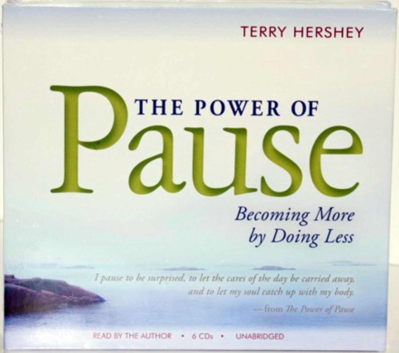 Read Online The Power of Pause: becoming more by doing less ebook