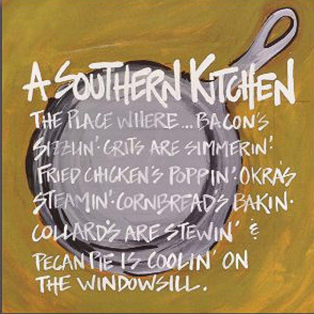 Magnolia Lane A Southern Kitchen Canvas Art