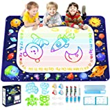 Betheaces Magic Doodle Drawing Mat - Extra Large Water Drawing Mat Toddler Toys Gifts Paint Writing Color Mat Kids Toys for 3