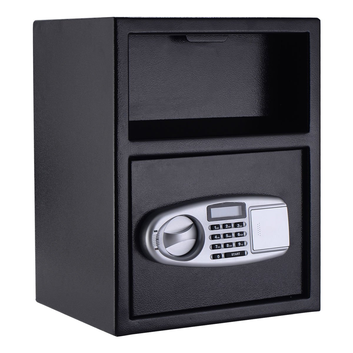 Giantex Digital Safe Box Depository Drop Deposit Front Load Cash Vault Lock Home Jewelry