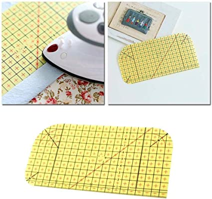 DIY Ironing Measuring Ruler Patchwork Sewing Tools For Clothing Making HOT