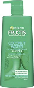 Garnier Fructis Coconut Water Shampoo For Oily Roots Dry Ends 850ml
