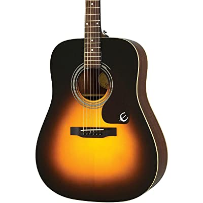 Epiphone PR-150 review: An acoustic vintage sunburst guitar for starting on