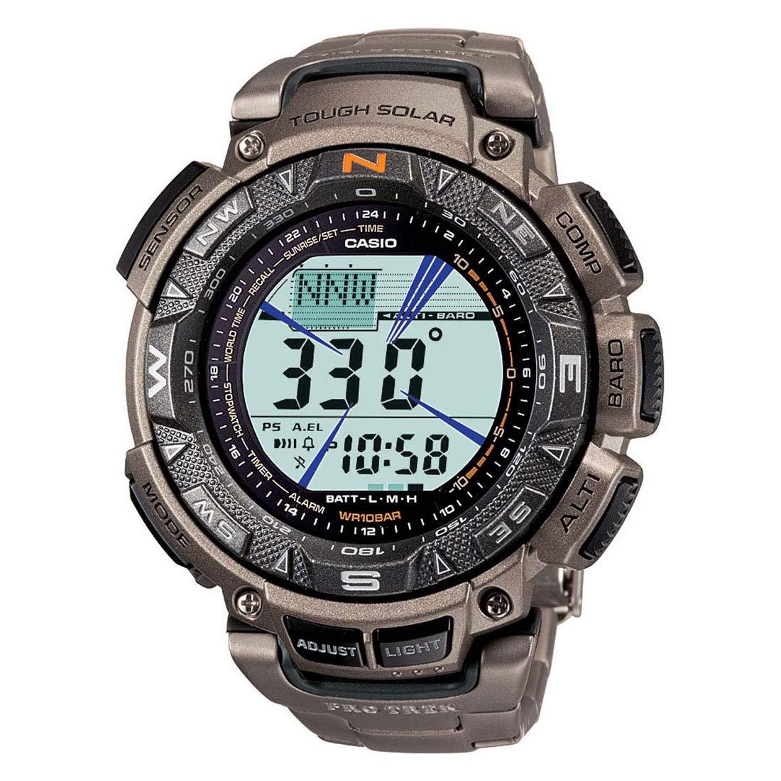 Casio Outdoor Digital Black Dial Men's Watch - PRG-240T-7DR (SL49)