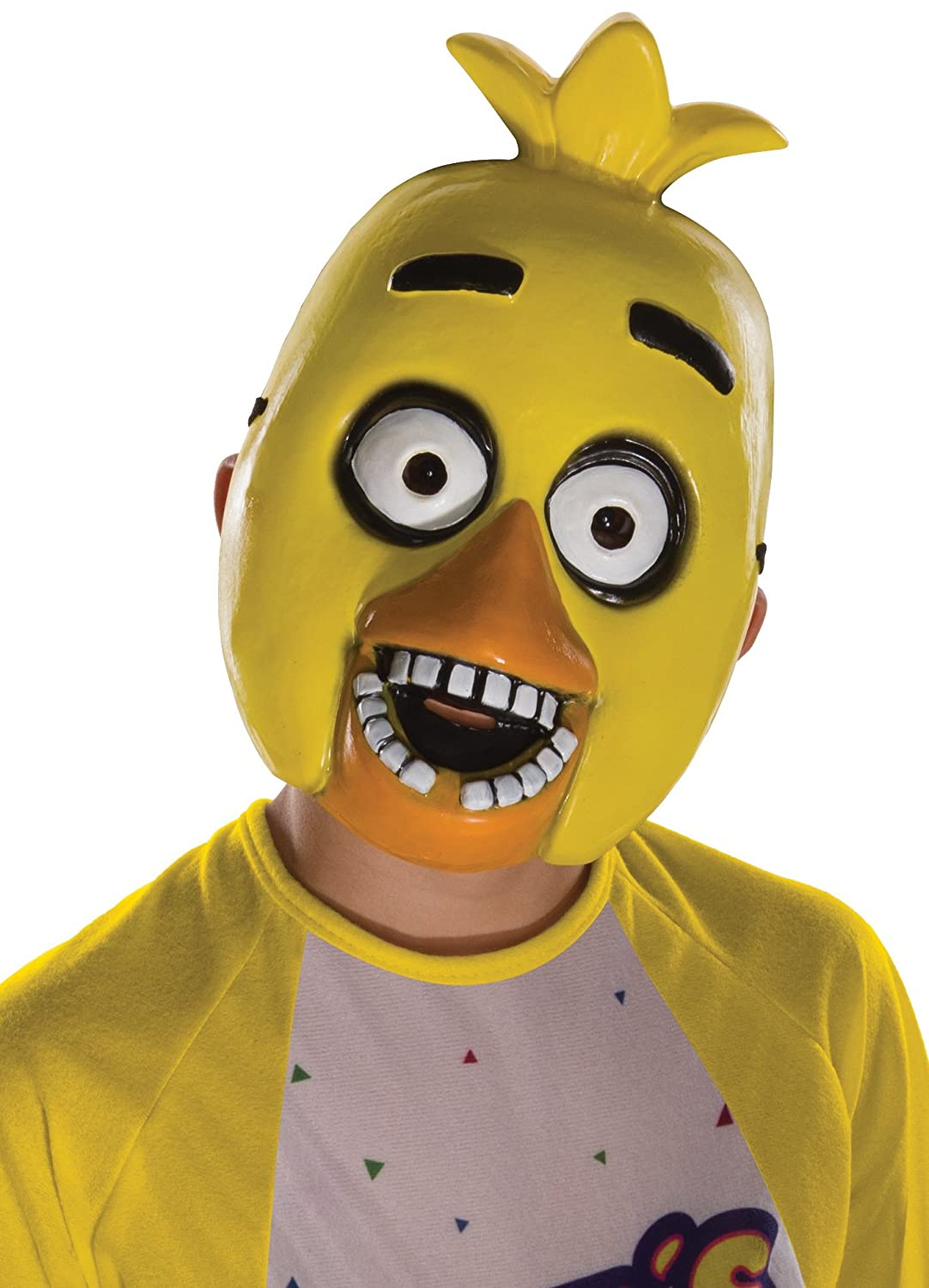 Amazon.com Five Nights at Freddyu0027s Chica Childu0027s Half Mask Toys u0026 Games  sc 1 st  Amazon.com : kids freddy costume  - Germanpascual.Com