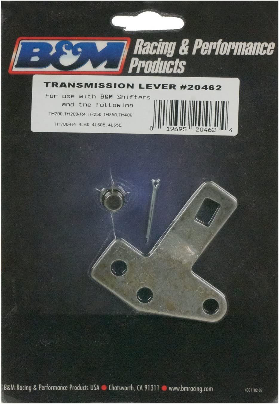 Chevy GM Th400 Transmission Cable Bracket And Lever