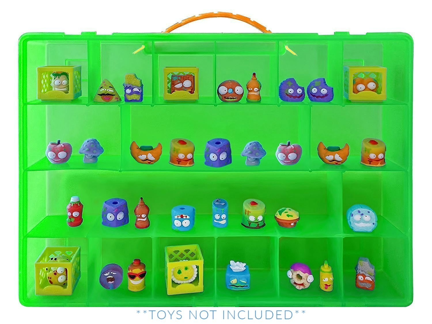Grossery Gang Case, Toy Storage Carrying Box. Figures Playset Organizer. Accessories For Kids by LMB