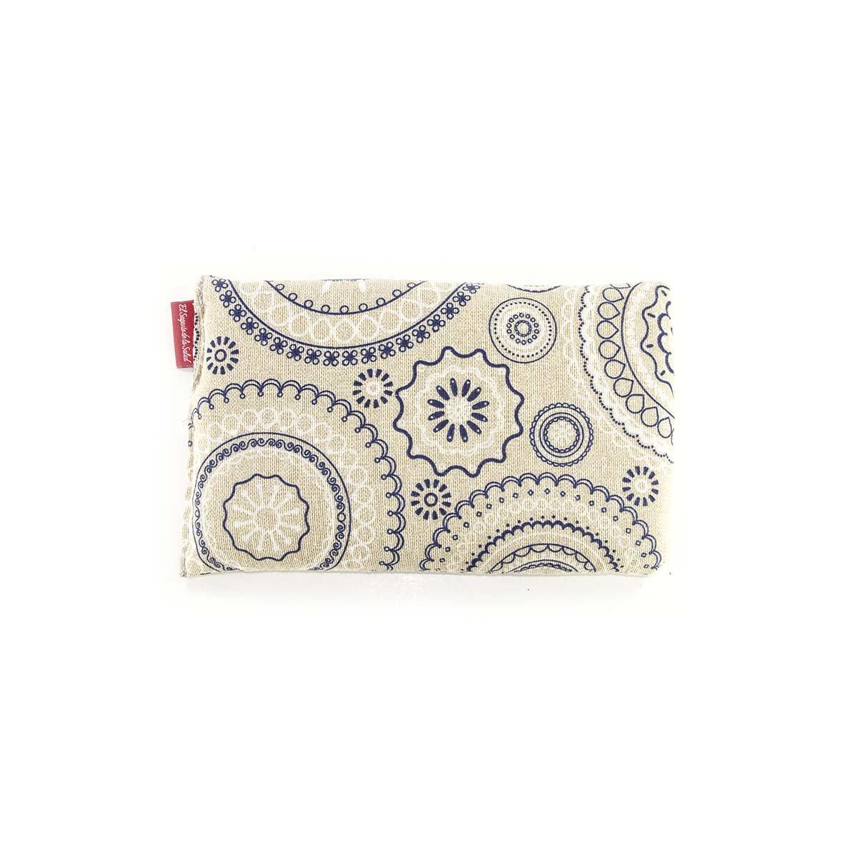 ar/ôme lavande fleur doranger ou romarin Motif spirales 23 cm Saquito de la Salud Bouillotte garnie de graines